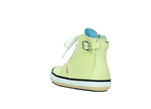 Leather Mocassins femme Light Move Yellow pour 20900 Wolky wf6qB60