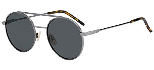 Sunglasses Fendi 221 /S 0KJ1 Dark Ruthenium / M9 gray polarized - Fendi Polarized Sunglasses