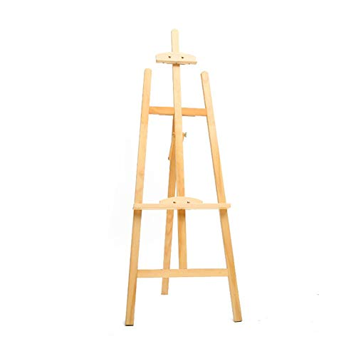 Easels YY Oil Painting Stand for Painting and Sketch Drawing, Professional Art Supplies, Tripod Artist 4.75ft Log Color from Easels