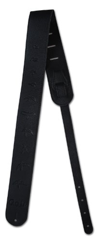 PRS Leather Bird Strap - Black