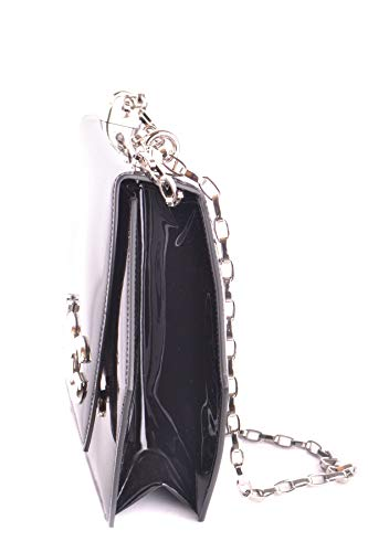 Porté Sac Mcbi099396o E Dolce Gabbana Épaule Noir Femme Cuir Ywq0F4xq