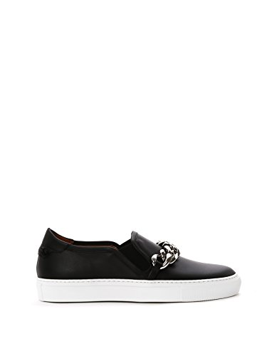 GIVENCHY-WOMENS-BE09107005001-BLACK-LEATHER-SLIP-ON-SNEAKERS
