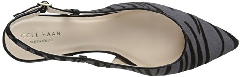 Haan ​​pompe Womens Cole Juliana Slingback Zèbre Haircalf