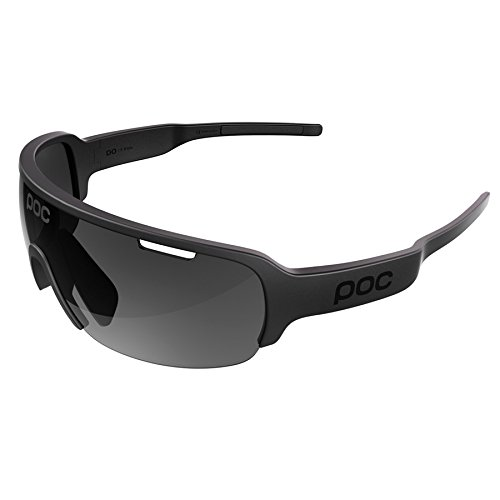 POC DO Half Blade Sunglasses, Uranium Black, One - Blades Sunglasses