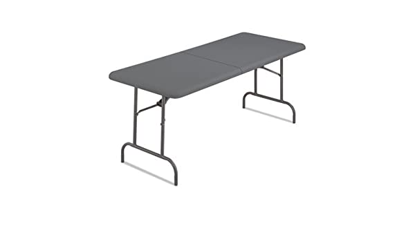 indestructables demasiado Bifold resina mesa plegable, 60 W x 30d ...