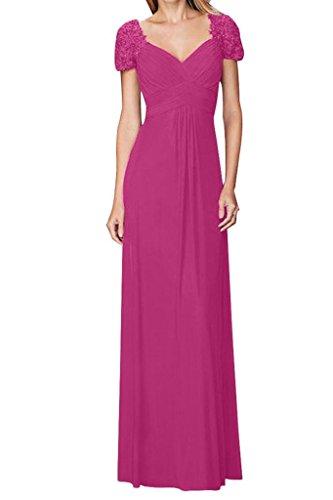 Abendkleider Bodenlang La Kleider mia linei Brautmutterkleider Formal A Pink Braut Kleider Jugendweihe Langes EOtOqrw