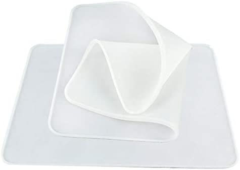 Andifany 2PCS Silicone Vacuum Sheet 3D Silicone Film for ST-3042 3D Sublimation Transfer Heat Press Machine