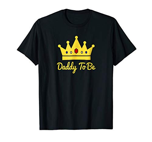 Daddy To Be Little Royal Prince Baby Shower Party T-Shirt