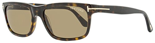Tom Ford 337 56J Tortoise Hugh Rectangle Sunglasses Lens Category 3 Lens - Tom 2014 Mens Ford Sunglasses