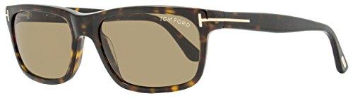 Tom Ford 337 56J Tortoise Hugh Rectangle Sunglasses Lens Category 3 Lens - Sunglasses Ford 2014 Tom