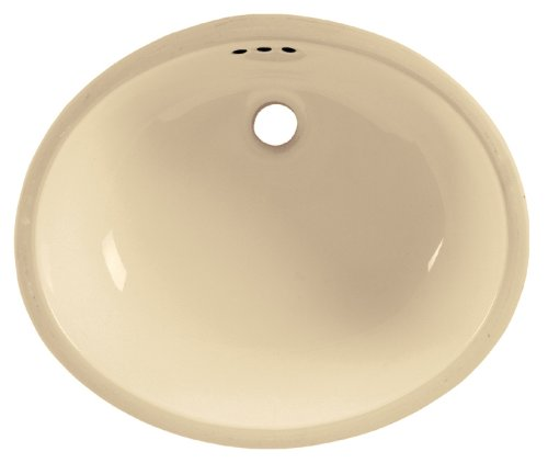 American Standard 9482.000.021 Ovalyn Universal Access Undercounter Sink, Bone by American Standard