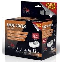 (Medline VEN28200 Venom Shoe Covers Value Pack, 12-Pair Per)