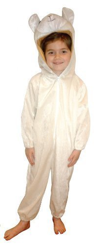 Sheep suit kids costume Nativity Size Medium 5 u2013 6 Yrs (Costume)  sc 1 st  Amazon UK & Sheep suit kids costume Nativity: Size Medium 5 - 6 Yrs (Costume ...