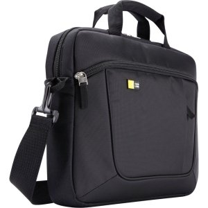 Case Logic Carrying Case for 14.1'' Notebook, iPad - Black - Polyester - AUA-314BLACK by Generic