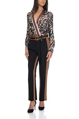 Donna Pantalone Rinascimento Rinascimento Pantalone carammello Nero q80zw