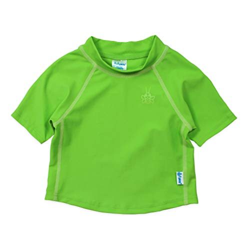 i play. Baby Short Sleeve Rashguard Shirt, Green, ()