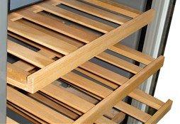 6 pc sno wine cooler wood shelves appliances. Black Bedroom Furniture Sets. Home Design Ideas