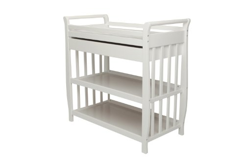 Asian Dcor Gifts - Athena Nadia Baby Changing Table, White