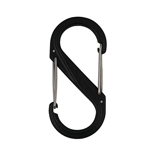 Nite Ize S-Biner Plastic Size-4 Double-Gated Carabiner