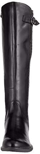 Au 1 25511 Du Genou Tamaris Noir black dessus Bottes 21 Femme Hqdc4B