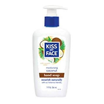 Kiss My Face Hand Soap Coconut 9oz Pump 6 Pack