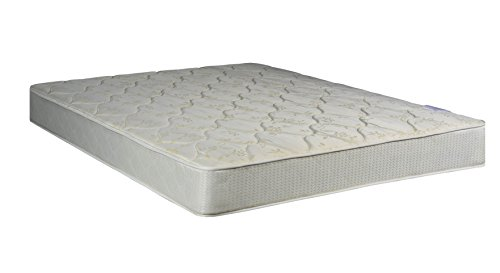 Continental Sleep Mattress, 8-Inch Fully Assembled Orthopedic Mattress and Box Spring, Full