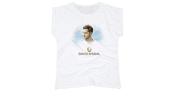 onstage 913-928501-S/M-Blanco - Camiseta Mujer David BISBAL ...