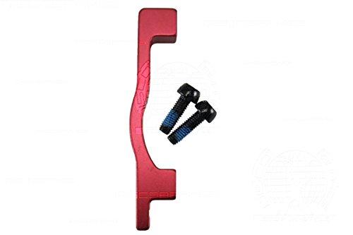 POST Mount Disc Brake Adaptor 203mm 8 Inch Rotor Avid Shimano 5 Colors PM Fork (Adaptor Disc Rotor)