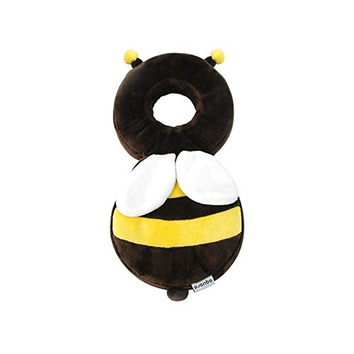 Aguard IKOONG Baby Head Protector Protection Baby Toddlers Head Safety Soft Cushion Pad Prevent Baby Injury Suitable from 6months (Honey Bee)
