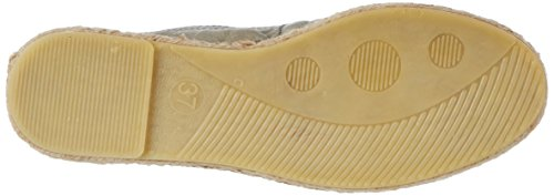 Pieces Pskatie Espadrillos Women's Eski Elephant Espadrilles Skin Grey Leather rrxAqwgp
