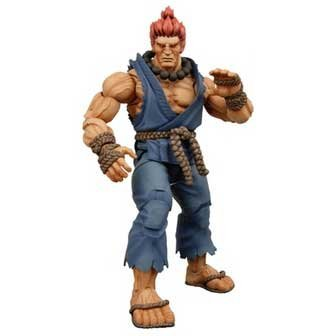Neca Player - Street Fighter IV NECA Series 2 Player Select Action Figure Akuma