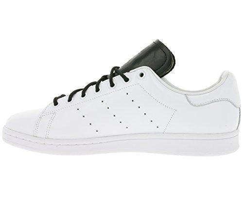 Adidas Originali Stan Smith Uomini In Vera Pelle, Scarpe Bianche