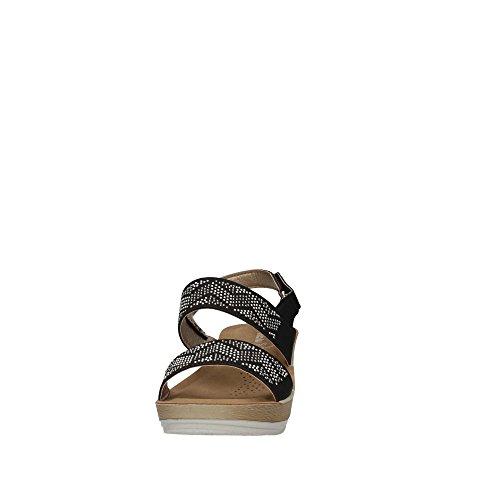 Black 11 ER Sandal Women D INBLU d5qUwX5