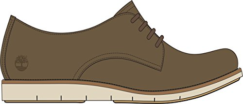 - Timberland Women's Lakeville Oxford Medium Brown Suede 11 B US