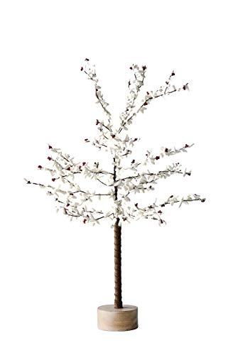Creative Co-Op 28 Inch Metal Tree with Felt Leaves