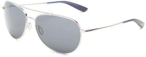 Kaenon Men's Driver Polarized Rimless Sunglasses, Chrome, 60 mm