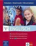 Englisch 5. Klasse, Vokabeln   Grammatik   Hörverstehen
