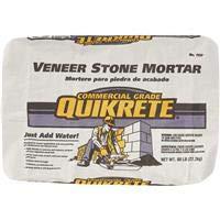 QUIKRETE CO 113760 Stone Veneer Mortar, 60lb by QUIKRETE CO