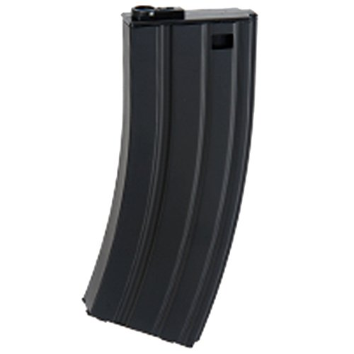 Long Magazine - UKARMS CYMA 190 Round Long Mid-Cap Airsoft Magazine Clip M4 AEG Electric Rifles - Metal
