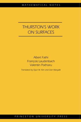 Thurston's Work on Surfaces (MN-48) (Mathematical Notes)