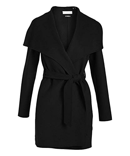 T Tahari Ella Coat Black (XL) ()