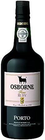 Tawny Osborne Vino de Oporto Ruby Porto - 1 botella de 75 cl