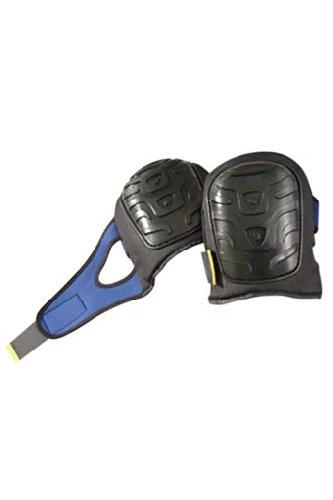 Black Fleece Jacket 121 Occunomix Premium Flat PE Cap Gel Pads, Black/Blue by OccuNomix (Image #1)