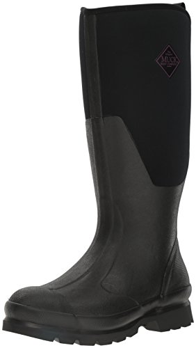 Muck Chore Rubber Women's Work Boots, Black, 8 B US