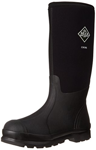 The Original MuckBoots Adult Chore Hi-Cut Boot,Black,Men's 11 M US / Women's 12 M US by Muck Boot