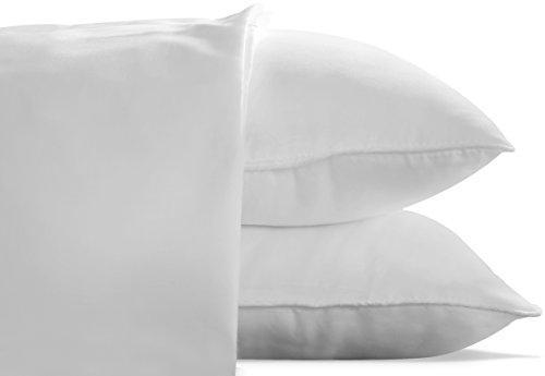 photo Wallpaper of Utopia Bedding-Utopia Bedding Cotton Pillow Case (Pack Of 2)   (King, White) -White