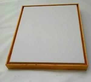 amazon com 20 pack 5x5 floater frames w canvas 1 5 depth floater