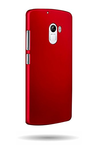 WOW Imagine™ Rubberised Matte Hard Case Back Cover for Lenovo K4 Note   Maroon Wine Red