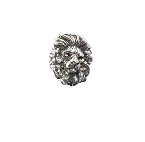 Pin Lion Head (Lion Head Pewter Pin, M102MP)