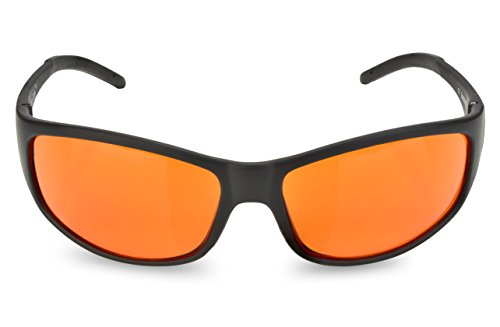 Blue Blocking Amber Glasses for Sleep - BioRhythm Safe(TM) - Nighttime Eye Wear - Special Orange Tinted Glasses Help You Sleep and Relax Your Eyes by Spectra479 (Image #1)
